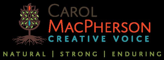 Carol Macpherson Voice Talent Banner logo