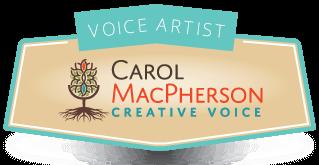 Carol Macpherson Voice Talent Header Logo